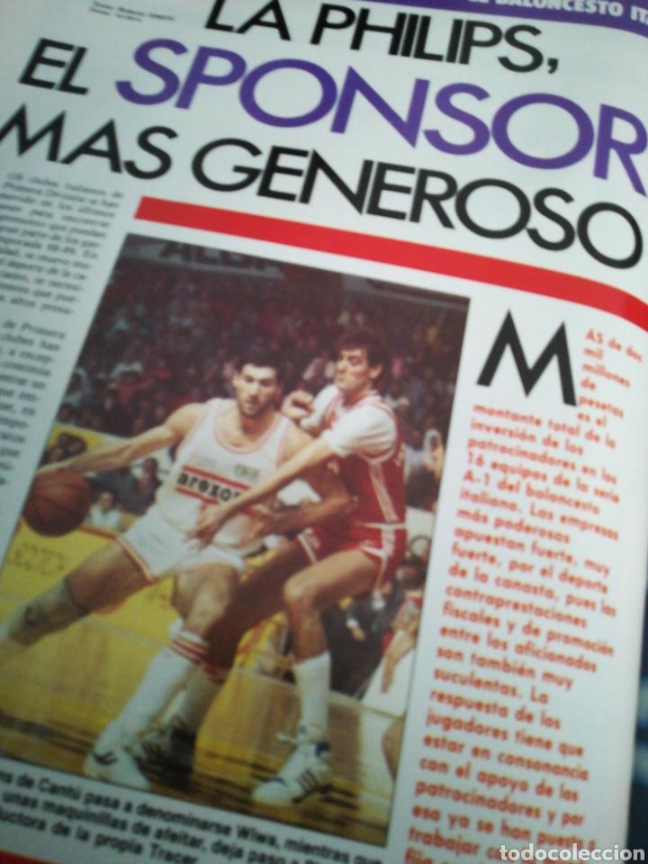 Coleccionismo deportivo: Gigantes del Basket manel comas europeo Junior número 148 septiembre 1988 - Foto 3 - 113824999