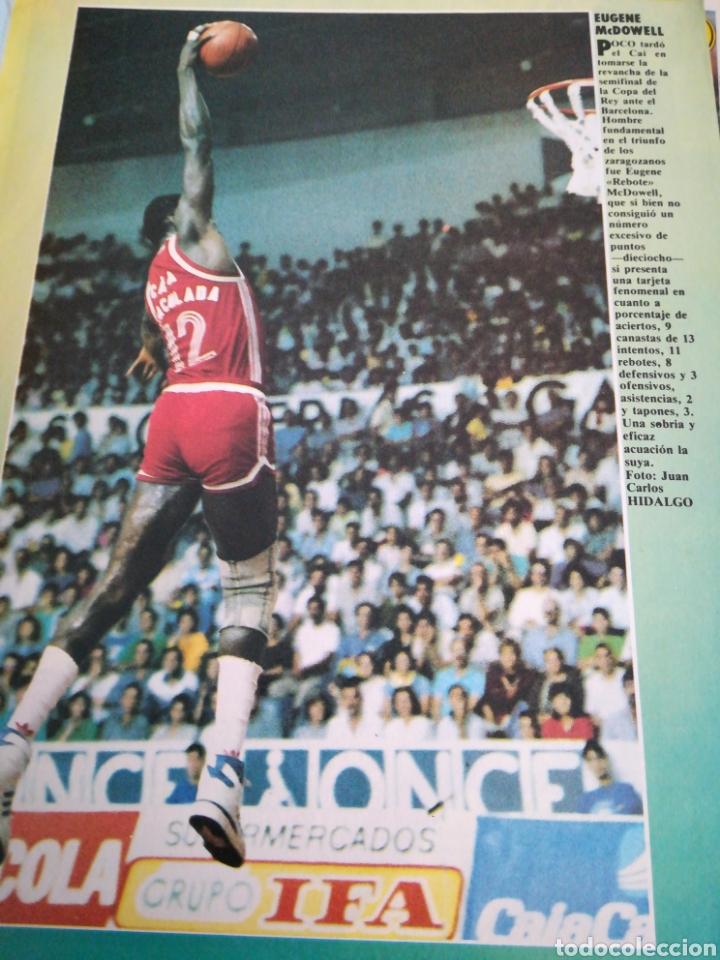 Coleccionismo deportivo: Gigantes del basket Antonio Martín número 60 diciembre 1986 - Foto 3 - 113825562