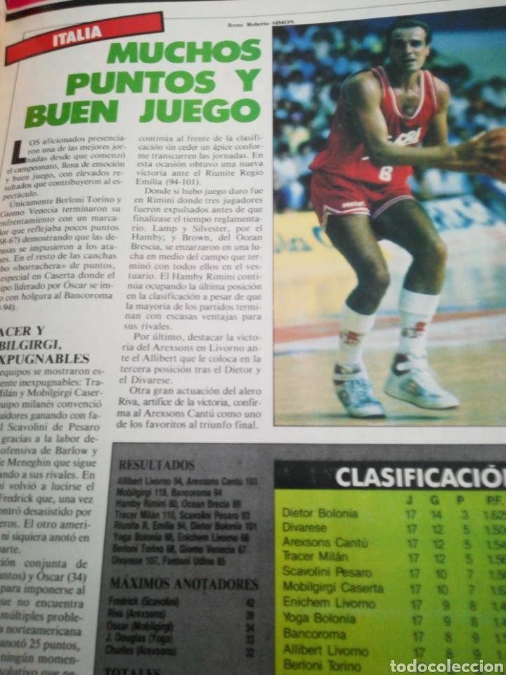 Coleccionismo deportivo: Gigantes del basket petrovic epi cargol número 61 año 1987 - Foto 2 - 113825722