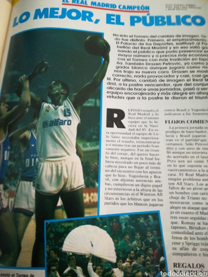 Coleccionismo deportivo: Gigantes del basket petrovic epi cargol número 61 año 1987 - Foto 3 - 113825722