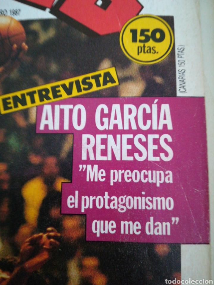 Coleccionismo deportivo: Gigantes del basket García reneses número 65 febrero 1987 - Foto 2 - 113825904