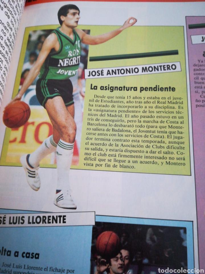 Coleccionismo deportivo: Gigantes del basket García reneses número 65 febrero 1987 - Foto 3 - 113825904