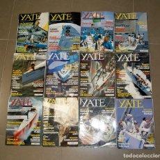 Coleccionismo deportivo: LOTE 102 NÚMEROS REVISTA YATE. Lote 114340819