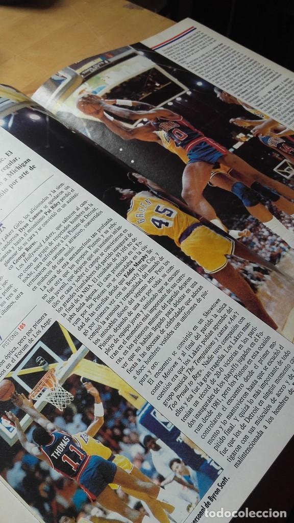 Coleccionismo deportivo: REVISTA ESTRELLAS DE BASKET 16. TOMO CON 15, NUMEROS (31 - 45) 1988. NBA - Foto 3 - 115378099
