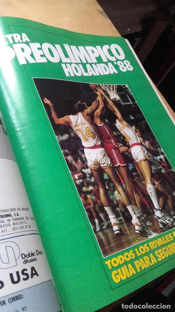 Coleccionismo deportivo: REVISTA ESTRELLAS DE BASKET 16. TOMO CON 15, NUMEROS (31 - 45) 1988. NBA - Foto 4 - 115378099