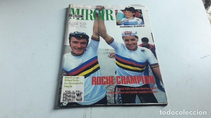 CICLISMO....REVISTA....LE MIROIR DU CYCLISME....N. 399.....1987.. (Coleccionismo Deportivo - Revistas y Periódicos - otros Deportes)