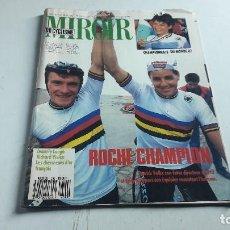 Coleccionismo deportivo: CICLISMO....REVISTA....LE MIROIR DU CYCLISME....N. 399.....1987... Lote 115500275