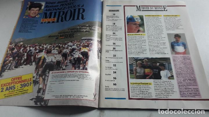 Coleccionismo deportivo: CICLISMO....REVISTA....LE MIROIR DU CYCLISME....N. 399.....1987.. - Foto 3 - 115500275