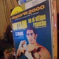 Coleccionismo deportivo: DEPORTE 2000 / 1970 - URTAIN / MUJERES GIMNASTAS - MINI LE MANS - DEPORTE EN FRANCIA. Lote 115670103