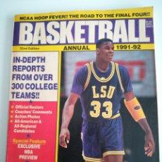 Coleccionismo deportivo: ANUARIO NCAA 1991-92 SHAQUILLE O'NEAL. Lote 115690326