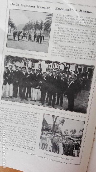 Coleccionismo deportivo: REVISTA RARISIMA STADIUM 1911 COPA AUTOMOVILISMO COCHES FUTBOL BARCELONA HISPANIA VALENCIA ESPAÑOL - Foto 14 - 115793187