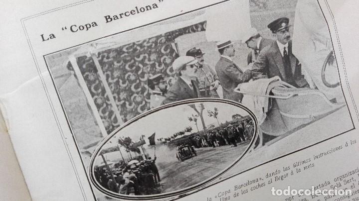 Coleccionismo deportivo: REVISTA RARISIMA STADIUM 1911 COPA AUTOMOVILISMO COCHES FUTBOL BARCELONA HISPANIA VALENCIA ESPAÑOL - Foto 6 - 115793187