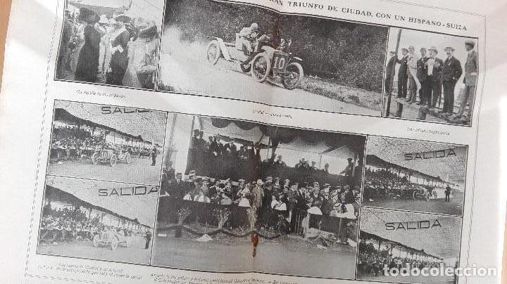 Coleccionismo deportivo: REVISTA RARISIMA STADIUM 1911 COPA AUTOMOVILISMO COCHES FUTBOL BARCELONA HISPANIA VALENCIA ESPAÑOL - Foto 8 - 115793187