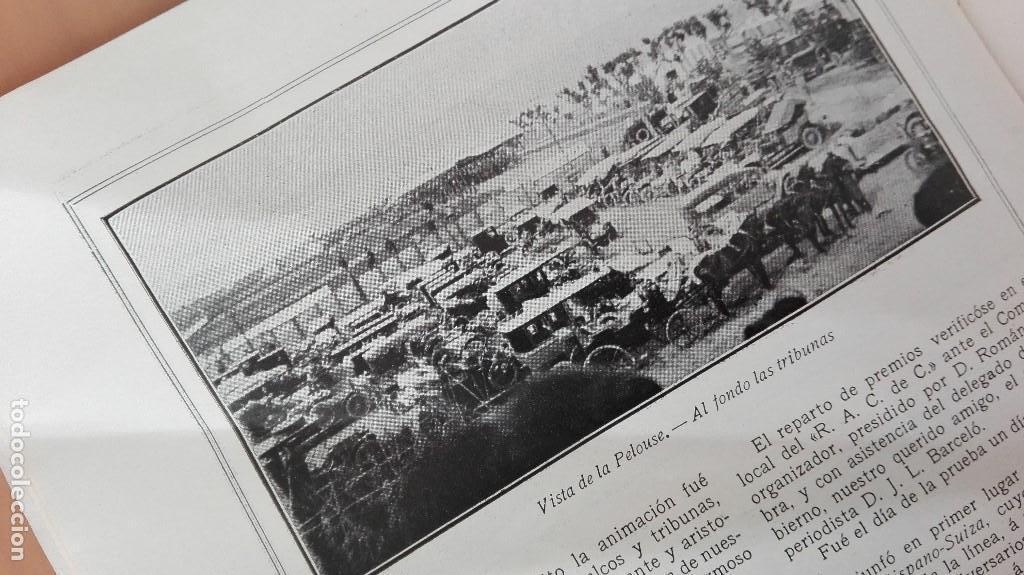 Coleccionismo deportivo: REVISTA RARISIMA STADIUM 1911 COPA AUTOMOVILISMO COCHES FUTBOL BARCELONA HISPANIA VALENCIA ESPAÑOL - Foto 9 - 115793187