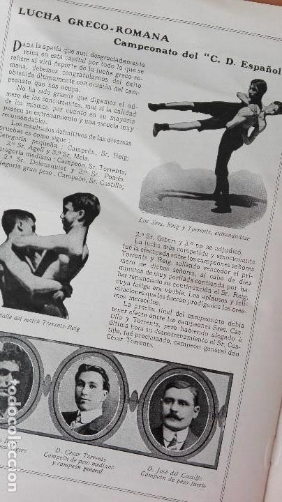 Coleccionismo deportivo: REVISTA RARISIMA STADIUM 1911 COPA AUTOMOVILISMO COCHES FUTBOL BARCELONA HISPANIA VALENCIA ESPAÑOL - Foto 11 - 115793187