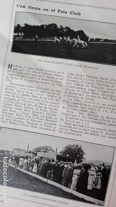 Coleccionismo deportivo: REVISTA RARISIMA STADIUM 1911 COPA AUTOMOVILISMO COCHES FUTBOL BARCELONA HISPANIA VALENCIA ESPAÑOL - Foto 16 - 115793187