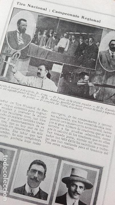 Coleccionismo deportivo: REVISTA RARISIMA STADIUM 1911 COPA AUTOMOVILISMO COCHES FUTBOL BARCELONA HISPANIA VALENCIA ESPAÑOL - Foto 17 - 115793187