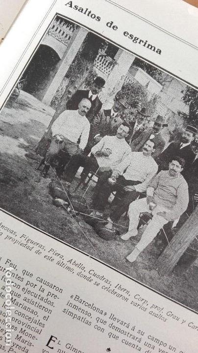 Coleccionismo deportivo: REVISTA RARISIMA STADIUM 1911 COPA AUTOMOVILISMO COCHES FUTBOL BARCELONA HISPANIA VALENCIA ESPAÑOL - Foto 20 - 115793187
