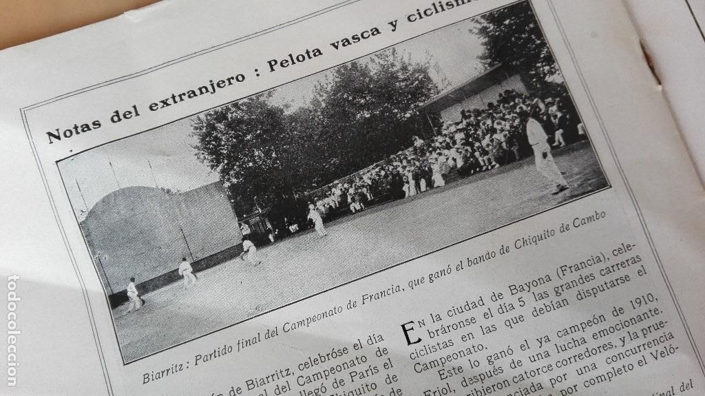 Coleccionismo deportivo: REVISTA RARISIMA STADIUM 1911 COPA AUTOMOVILISMO COCHES FUTBOL BARCELONA HISPANIA VALENCIA ESPAÑOL - Foto 22 - 115793187