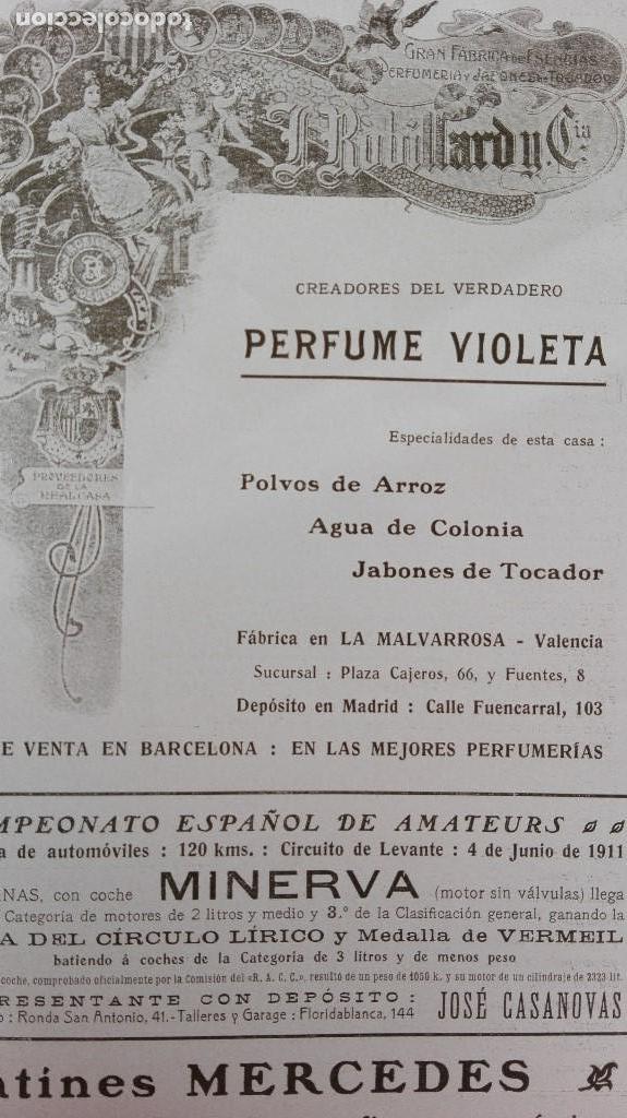Coleccionismo deportivo: REVISTA RARISIMA STADIUM 1911 COPA AUTOMOVILISMO COCHES FUTBOL BARCELONA HISPANIA VALENCIA ESPAÑOL - Foto 23 - 115793187