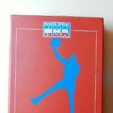 Coleccionismo deportivo: TAPA ARCHIVADOR REVISTA OFICIAL NBA AÑOS 90.. Lote 116238012