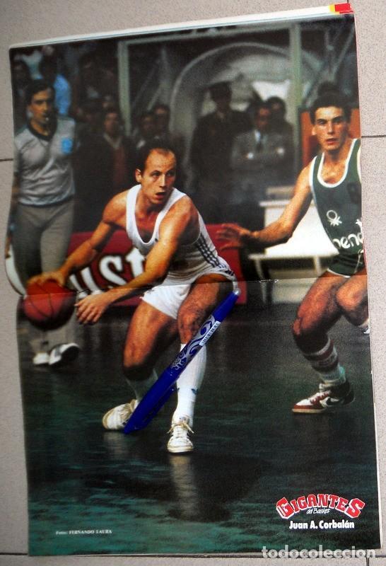 Coleccionismo deportivo: REVISTA GIGANTES del BASKET Nº4 Diciembre 1985 BALONCESTO PÓSTER CORBALAN REAL MADRID NBA SIBILIO - Foto 2 - 116783859