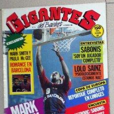 Coleccionismo deportivo: REVISTA GIGANTES BASKET Nº14 FEBRERO 1986 BALONCESTO PÓSTER SUPEREPI EPI FC BARCELONA.SABONIS NBA. Lote 116784967