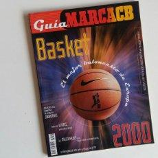 Coleccionismo deportivo: (SEVILLA) GUÍA MARCA ACB 2000. Lote 116820148