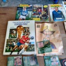 Coleccionismo deportivo: LOTE DIVERSO MUNDIAL 82 BARCELONA ETC.. A CLASIFICAR. Lote 117109834