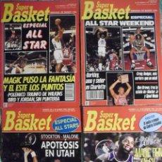 Coleccionismo deportivo: MICHAEL JORDAN - REVISTAS ''SUPERBASKET'' - ALL-STARS DE 1990 A 1993 - NBA. Lote 117687779