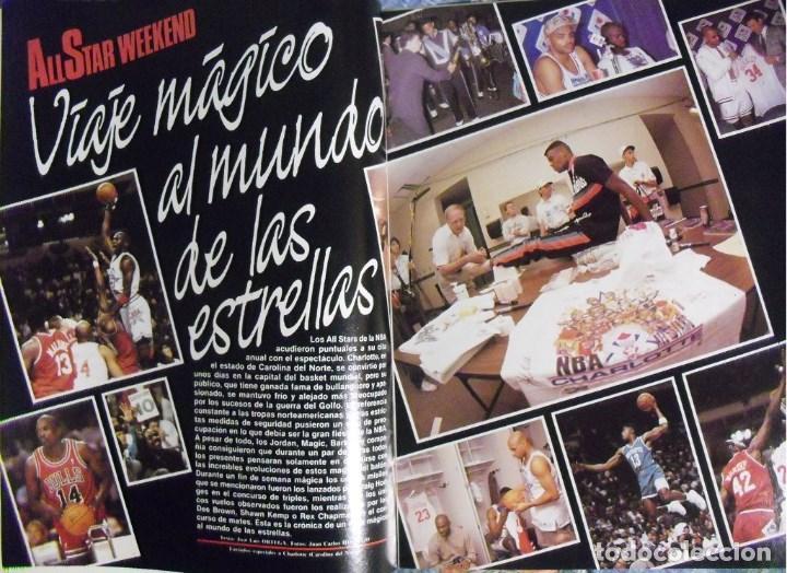 Coleccionismo deportivo: Michael Jordan - Revistas Superbasket - All-Stars de 1990 a 1993 - NBA - Foto 2 - 117687779