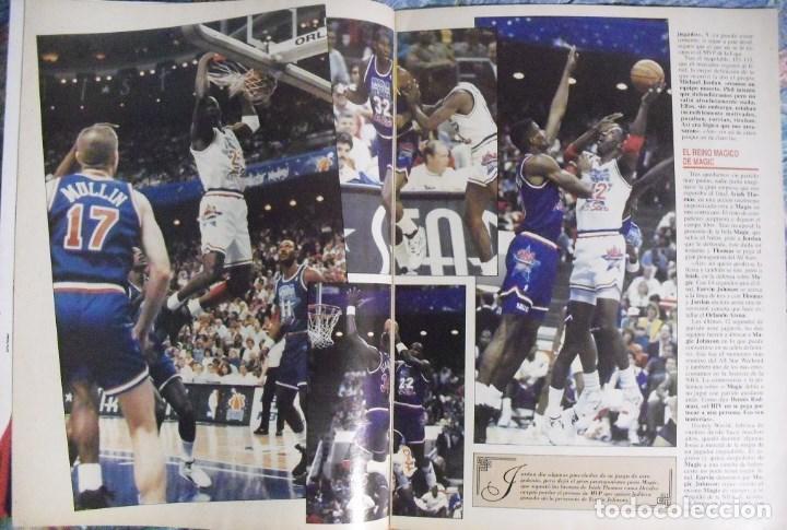 Coleccionismo deportivo: Michael Jordan - Revistas Superbasket - All-Stars de 1990 a 1993 - NBA - Foto 4 - 117687779