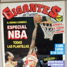 Coleccionismo deportivo: GIGANTES DEL BASKET Nº157 NOVIEMBRE 1988 BALONCESTO POSTER BOSTON CELTICS REAL MADRID LARRY BIRD NBA. Lote 118045995