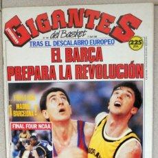 Coleccionismo deportivo: GIGANTES DEL BASKET Nº180 ABRIL 1989 BALONCESTO POSTER FERNANDO ARCEGA CAI ZARAGOZA FINAL FOUR NBA . Lote 118158011