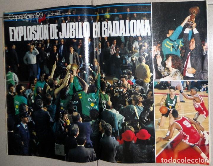 Coleccionismo deportivo: GIGANTES del BASKET Nº231 Abril 1990 BALONCESTO ESPECIAL COPA KORAC CAMPEON JOVENTUT BADALONA NBA - Foto 2 - 118299635