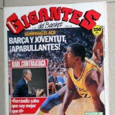 Coleccionismo deportivo: GIGANTES DEL BASKET Nº238 MAYO 1990 BALONCESTO POSTER JORDI VILLACAMPA JOVENTUT DE BADALONA - NBA. Lote 118299991