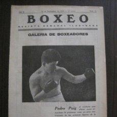 Coleccionismo deportivo: BOXEO-PEDRO PUIG- DEMPSEY -WILLS- TUNNEY -PIERRE BOSCH.-SEPTIEMBRE 1926- VER FOTOS -(V-14.299). Lote 118368607