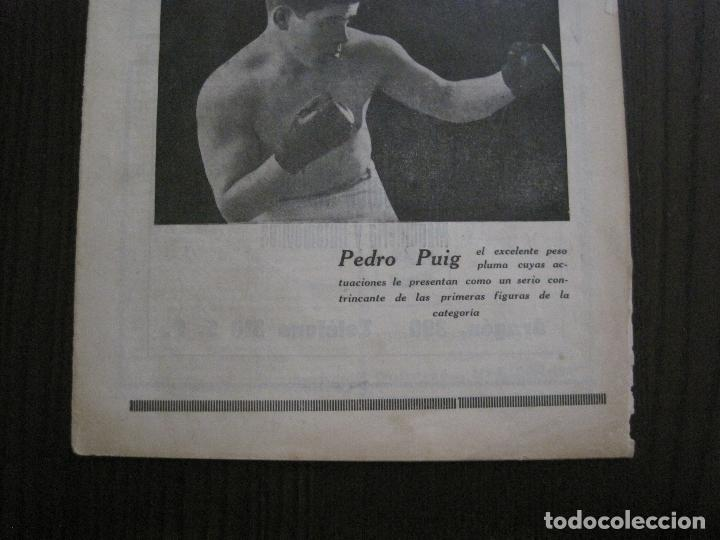 Coleccionismo deportivo: BOXEO-PEDRO PUIG- DEMPSEY -WILLS- TUNNEY -PIERRE BOSCH.-SEPTIEMBRE 1926- VER FOTOS -(V-14.299) - Foto 3 - 118368607