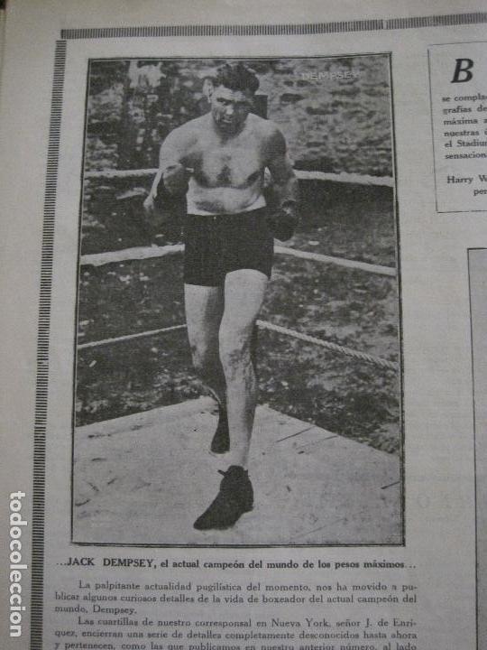 Coleccionismo deportivo: BOXEO-PEDRO PUIG- DEMPSEY -WILLS- TUNNEY -PIERRE BOSCH.-SEPTIEMBRE 1926- VER FOTOS -(V-14.299) - Foto 9 - 118368607