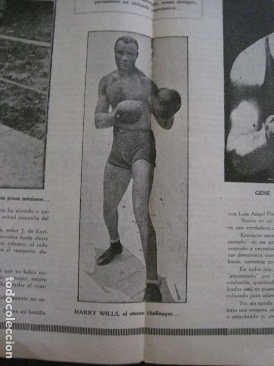 Coleccionismo deportivo: BOXEO-PEDRO PUIG- DEMPSEY -WILLS- TUNNEY -PIERRE BOSCH.-SEPTIEMBRE 1926- VER FOTOS -(V-14.299) - Foto 10 - 118368607