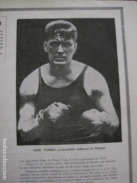 Coleccionismo deportivo: BOXEO-PEDRO PUIG- DEMPSEY -WILLS- TUNNEY -PIERRE BOSCH.-SEPTIEMBRE 1926- VER FOTOS -(V-14.299) - Foto 11 - 118368607