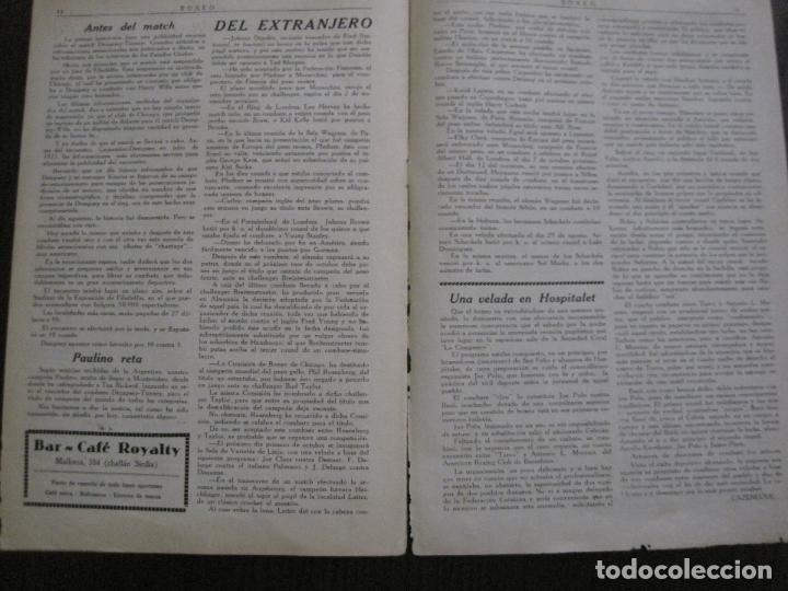 Coleccionismo deportivo: BOXEO-PEDRO PUIG- DEMPSEY -WILLS- TUNNEY -PIERRE BOSCH.-SEPTIEMBRE 1926- VER FOTOS -(V-14.299) - Foto 13 - 118368607