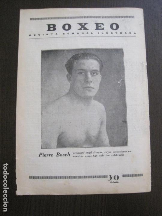 Coleccionismo deportivo: BOXEO-PEDRO PUIG- DEMPSEY -WILLS- TUNNEY -PIERRE BOSCH.-SEPTIEMBRE 1926- VER FOTOS -(V-14.299) - Foto 14 - 118368607