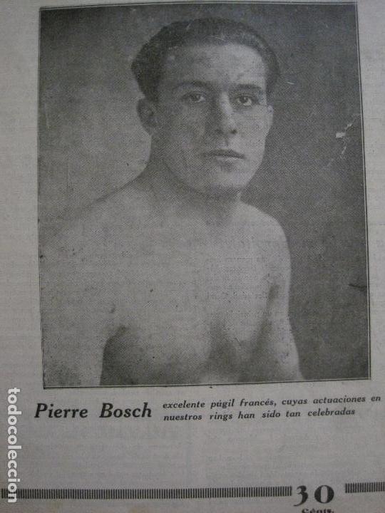 Coleccionismo deportivo: BOXEO-PEDRO PUIG- DEMPSEY -WILLS- TUNNEY -PIERRE BOSCH.-SEPTIEMBRE 1926- VER FOTOS -(V-14.299) - Foto 15 - 118368607