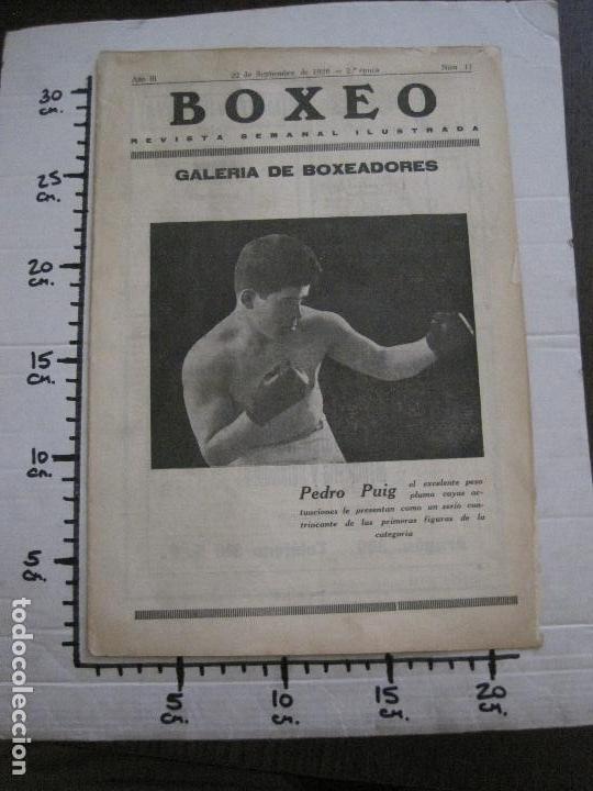 Coleccionismo deportivo: BOXEO-PEDRO PUIG- DEMPSEY -WILLS- TUNNEY -PIERRE BOSCH.-SEPTIEMBRE 1926- VER FOTOS -(V-14.299) - Foto 16 - 118368607