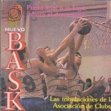 Coleccionismo deportivo: REVISTA BALONCESTO NUEVO BASKET Nº 104. Lote 118457075