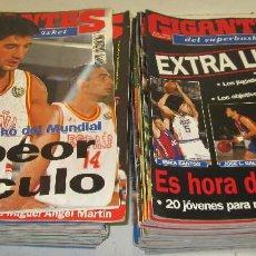 Coleccionismo deportivo: LOTE 53 REVISTAS GIGANTES DEL SUPERBASKET, BASKET, AÑOS 1994-1995, POSIBILIDAD DE VENDER SUELTAS. Lote 118488303