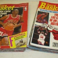 Coleccionismo deportivo: LOTE 21 REVISTAS SUPERBASKET, SUPER BASKET, AÑOS 1989 A 1993, POSIBILIDAD DE VENDER SUELTAS. Lote 118699102