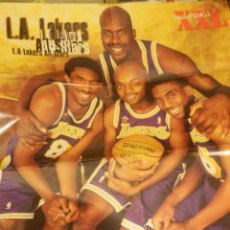 Coleccionismo deportivo: PÓSTER GIGANTE - AMERICAN BASKET. XXL BASKETBALL - LOS ANGELES LAKERS. Lote 118627083