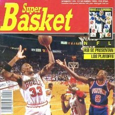 Coleccionismo deportivo: REVISTA SUPER BASKET Nº159 CONTIENE POSTER . Lote 118925007